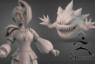 Esculpido Orgánico Digital con ZBrush