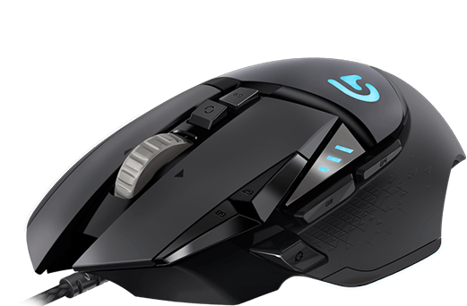 Mouse Logitech G502 Proteus Spectrum (HERO Update)