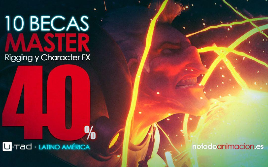 Concurso 10 Becas – Master Rigging y Character FX por Notodoanimacion