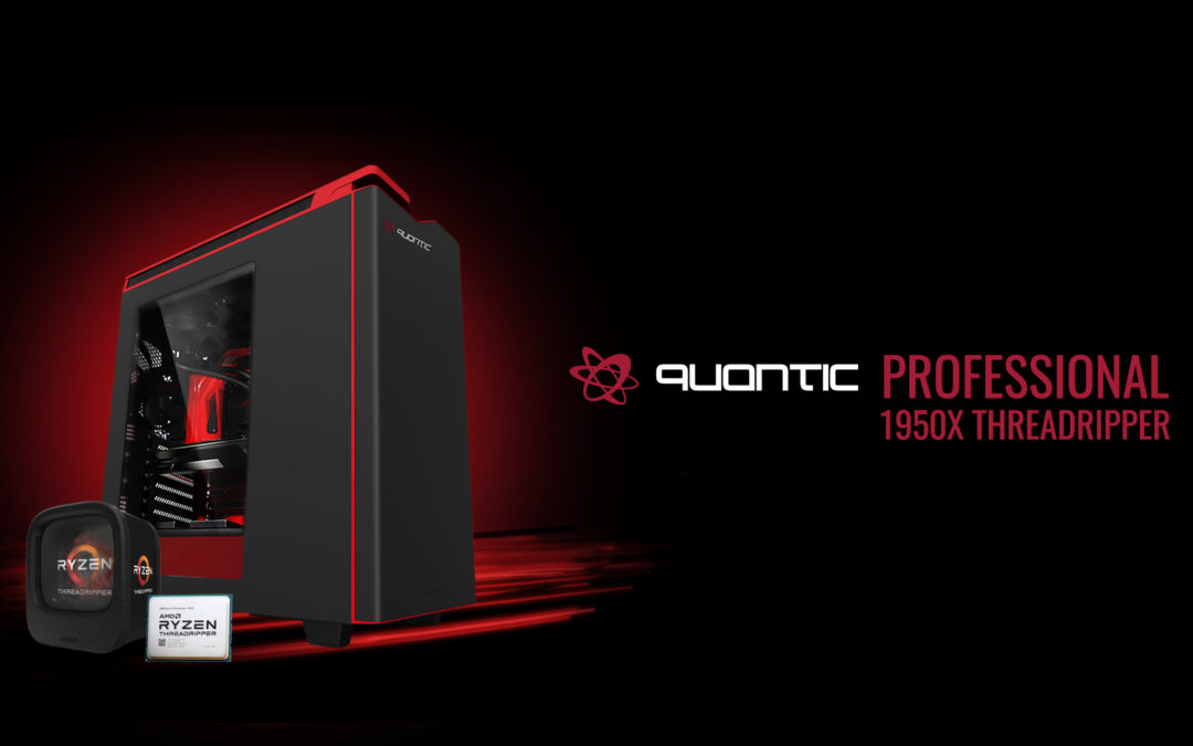 Quantic Professional AMD 1950X, un potro indomable para render.