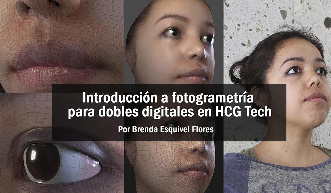 Introducción a la fotogrametría para dobles digitales en HCG Tech